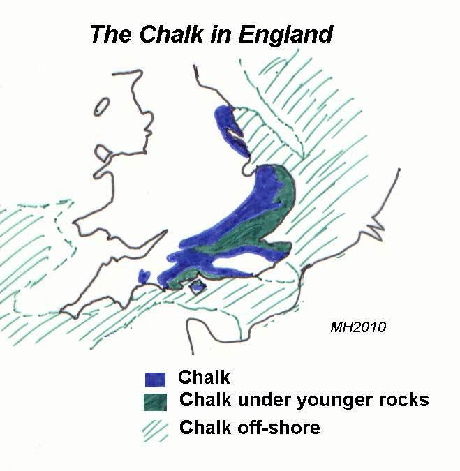 Chalk in England